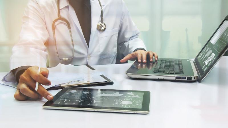 Digitalização e armazenamento de prontuários médicos
